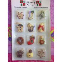 Set De Ornamentos Para Decoracion O Casitas Miniatura