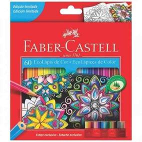 Caixa Lápis De Cor 60 Cores Escolar Faber Castell