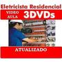 Curso Eletricista Residencial Predial Em 3 Dvds Frete Gratis