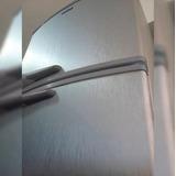 Adesivo Aço Escovado Inox P/ Geladeira Moveis - 10m X 1m