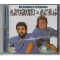Matogrosso E Mathias - Cd Os Maiores Sucessos - Lacrado!