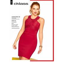 Oferta Vestido Cklass Rojo Otoño Invierno 2015 Nuevo