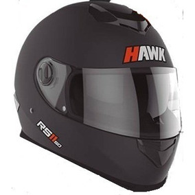 Super Oferta Casco Hawk Rs11 Doble Visor Lentes - Fas Motos