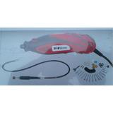 Torno Mini Drill Top 135 Watts+ Accesorios+flexible Ofer 018