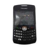 Carcasa Blackberry 8330 Negra C / Trackball