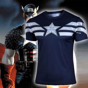 Pronta Entrega - Camiseta Marvel Heróis Capitão América