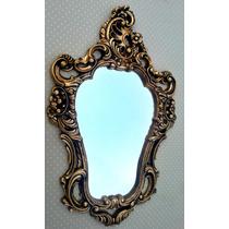 Moldura Veneziana Antique Ouro Velho Já Com Espelho