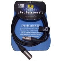 Cable Micrófono/señal Solcor 39b03 Xlr Neutrik Suizo 3mt