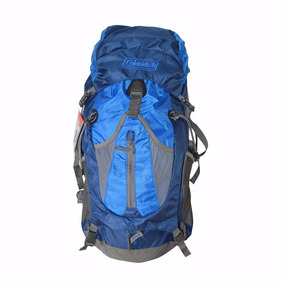 Mochila Campismo Backpack Llaima Azul De 40 Litros Coleman