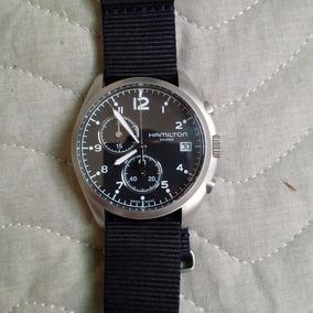 Relógio Hamilton Khaki Chrono
