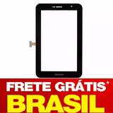 Tela Vidro Touch Tablet P6200 P6200l Samsung Galaxy Tab 7