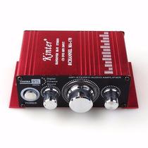 Mini Modulo Amplificador Áudio Carro Barco Mp3 Ipod