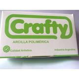 Crafty Arcilla Polimerica Blanda Blanca.
