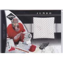 2011 - 2012 Limited Jumbo Jersey Jimmy Howard /99 Red Wings