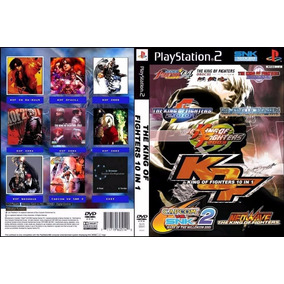 The King Of Fighters Collection Kof 10 Em 1 - Ps2 Jogos Luta