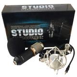 Micrófono Estudio Grabacion Profesional Condensador Bm-800
