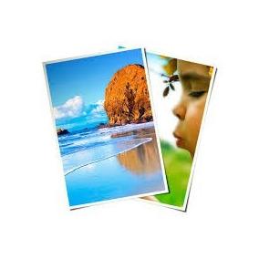 500 Folhas Papel Glossy Fotográfico À Prova D´água 230g A3