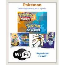Pokemon Sun Moon Competitivos Shinys. Pokémon Sol Luna.