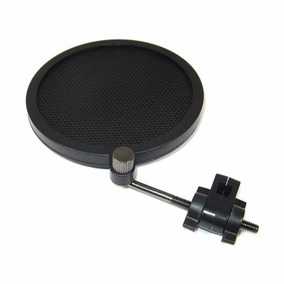 Pop Filter Anti Puff Mini Microfone Stúdio Condensador