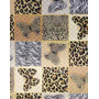 Embalagem Saco Metalizado África Animal Print 20x30 C100 203