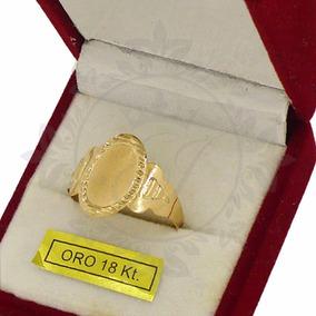 Anillos Oro 18 K Sello Cleopatra Oro 1.5 G Mujer Con Grabado
