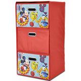 Juguetero Organizador Ropero Infantil Mickey Mouse 3 Cajones
