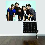 Adesivo De Parede Quarto Poster Foto One Direction Banda