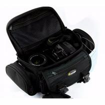 Bolsa Fotografica Case P/ Camera Digital Dsrl Canon E Nikon