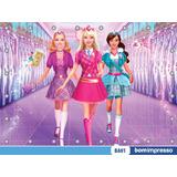 Painel Barbie 1,50x1,00m Lona Festa Banner Aniversario