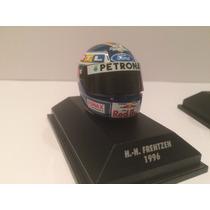 3 Capacetes 1:8 Minichamps Jean Alesi Ralf Schumacher Frentz