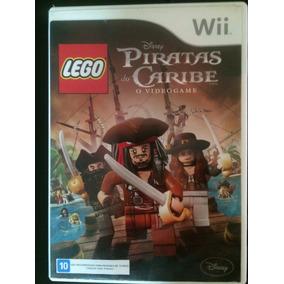 Jogo Wii Lego Piratas Do Caribe