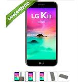 Smartphone Lg K10 Novo 2017 32gb Original Preto E Titânio
