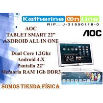 Tablet Aoc Smart 22 Android Tabla