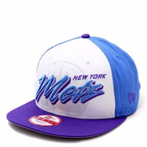 Boné New Era Aba Reta New York Mets Snapback Original