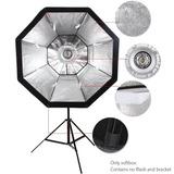 Octabox De 120cm Para Flash De Estúdio Com Grid P/ Greika