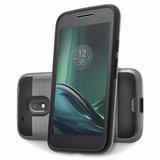 Forro Verus Moto G4 / G4 Plus + Vidrio Templado