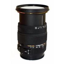 Lente Sigma 17-50mm F2.8 Ex Dc (os)* Hsm P/ Canon | Novo