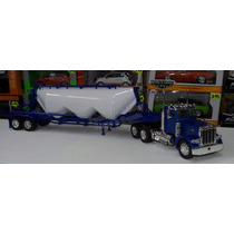 1:32 Peterbilt Model 379 C Pipa Chichona De Cemento New Ray