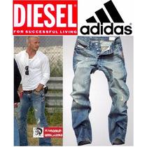 Calça Adidas Jeans Jogador Famoso - Luxo Importada