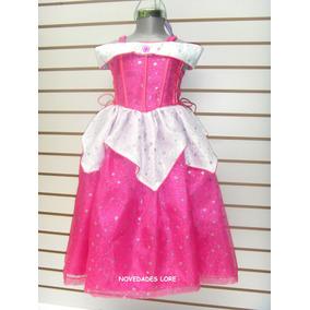 Vestido Princesa Disfraz Aurora-bella Durmiente Regalo Niña