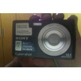 Maquina De Fotografia Sony Cyber Shot 12.1 Mp 4gb Rs200