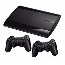 Consola Ps3 Ultra Slim 500gb 2 Joysticks 12 C/ Sin Interes