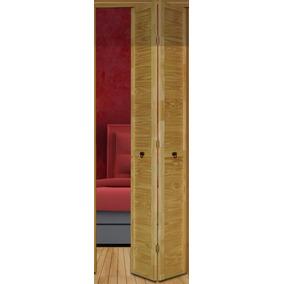 Puerta Rebatible Pino 80/85x200 (lista Para Pintar)