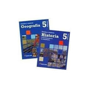 Geografía E Historia 5 (2 Libros). Editorial Santillana