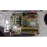 Kit Placa Mae 775 Asus P5vd2-vm Ddr-2 1g Dual-core Espelho