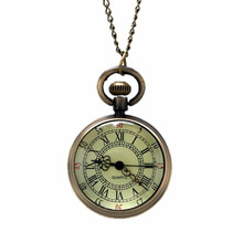 Reloj Relojes De Bolsillo De Pila Tipo Antiguo Vintage Retro