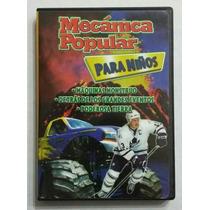 Dvd Mecanica Popular Para Niños Maquimas Monstruo