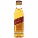 Miniatura De Bebida Whisky Uísque Red Label Original