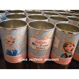 Souvenir Frozen Lapiceros Metálicos Personalizados - 25 Unid