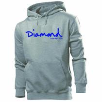 Blusa Moleton Diamond - Frete Grátis